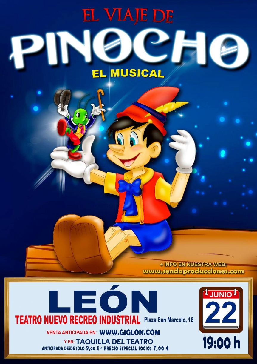 Musical: 'El viaje de Pinocho'